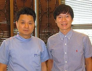 李院長至韓國BK hospital與Dr. Shin交流