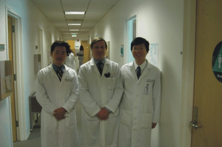 李院長至UCLA與Dr J 和 Dr Kim交流